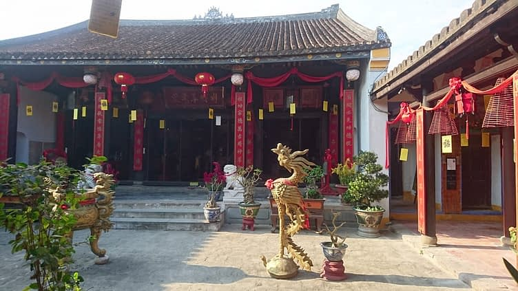 Hoi An has, of course, a great many temples, each one a place of peace and quiet