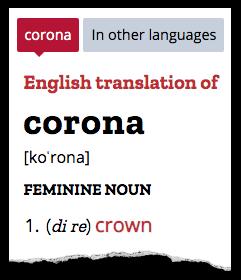 Corona translation