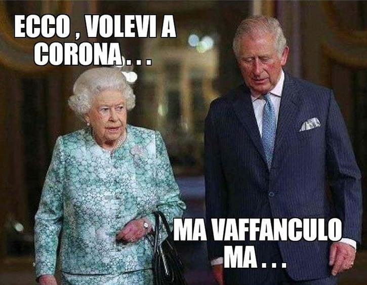 Ecco, volevi a corona...