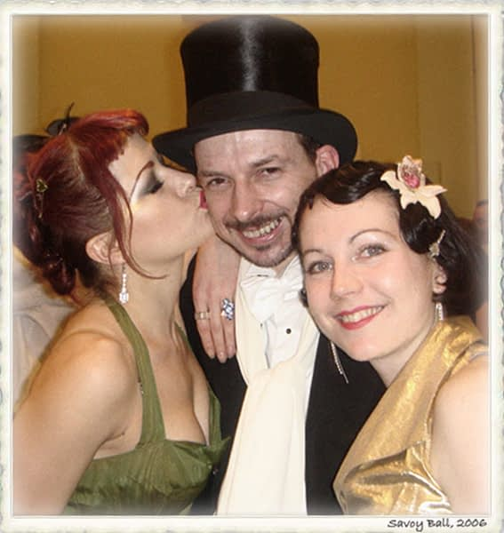 Between the 'Bees Knees' at the Savoy Ball, 2006