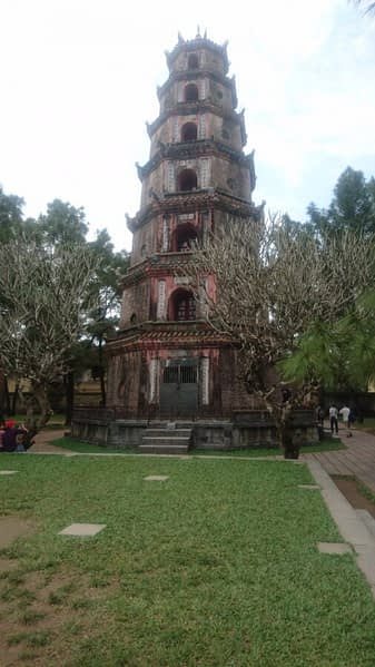 The Pagoda of the Celestial Lady is a historic temple in the city of Hue