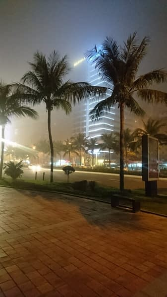 Hot, humid days followed by cooling evening winds on the seafront bring refreshing mists