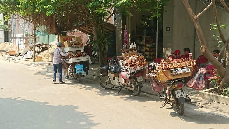 You can buy anything off the back of a scooter in Vietnam