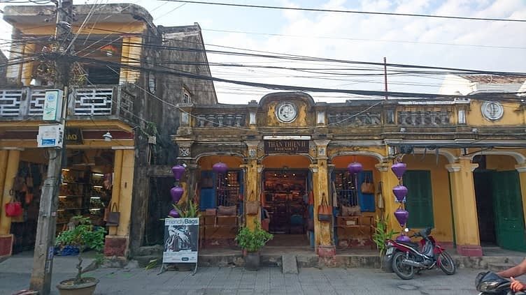 Although Hoi An was recognised as a World Heritage site by UNESCO in 1999, don't expect anything that looks restored or preserved. The architecture has a decidedly 'surviving' feel about it