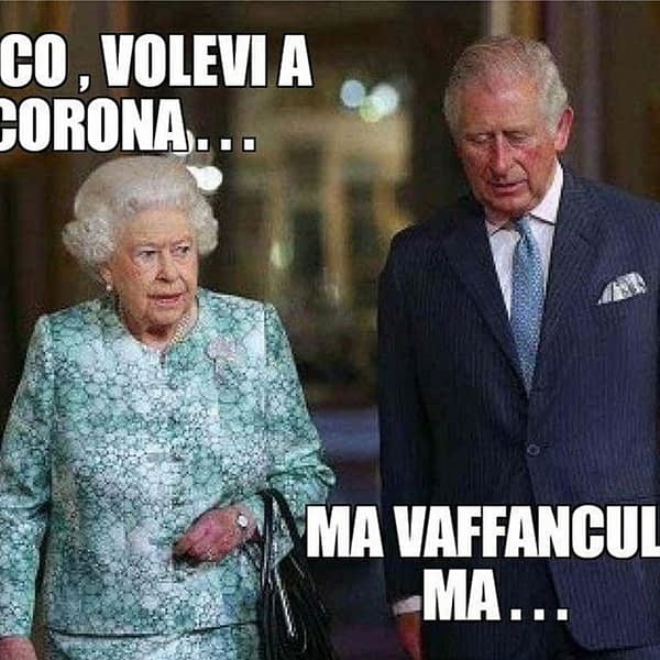 Ecco, volevi a corona